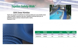Tapetes Safety Walk Zonas húmidas 3200