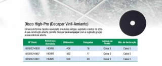 Disco High-Pro (Decapar Vinil-Amianto)