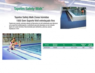 Tapetes Safety Walk Zonas húmidas 1500