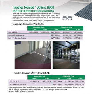Tapetes Nomad™ Optima 9900