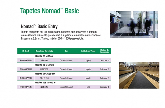 Nomad™ Basic Entry