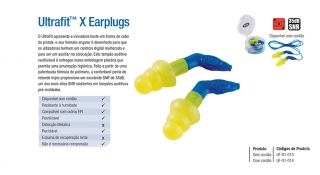 Ultrafit™ X Earplugs