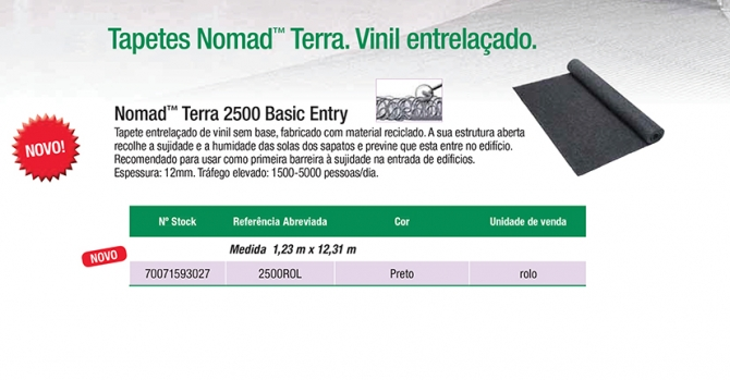 Nomad™ Terra 2500 Basic Entry