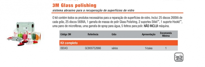 3M Glass polishing
